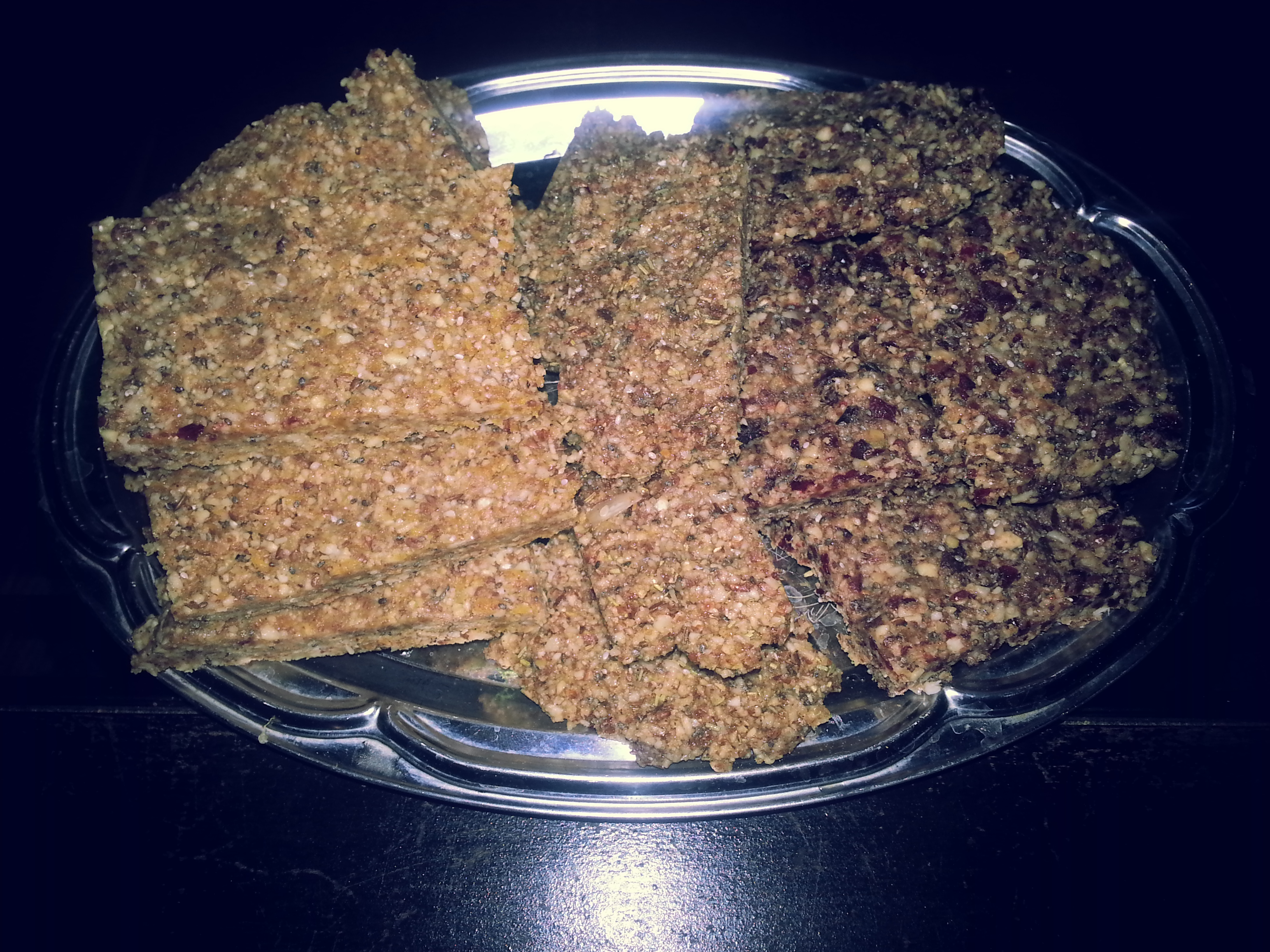 Rawsome Bars Raw Vegan Fruit Nut And Spice Protein Bars